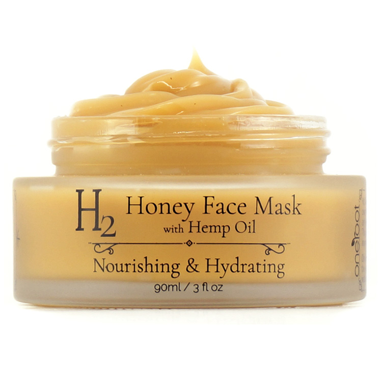 H2 Honey Face Mask with Hemp Oil 90ml