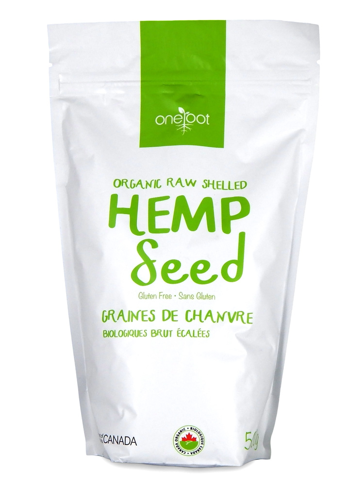 Organic Raw Shelled Hemp Seeds 500g