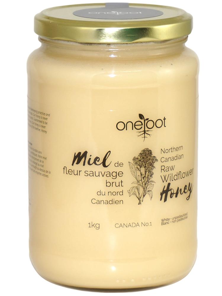 Natural Raw Wildflower Honey - 1kg