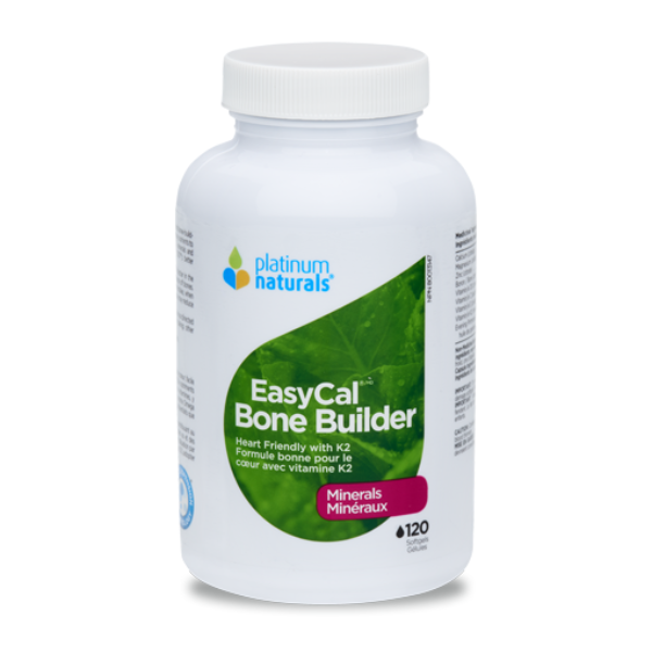 Platinum Naturals EasyCal Bone Builder 120softgels