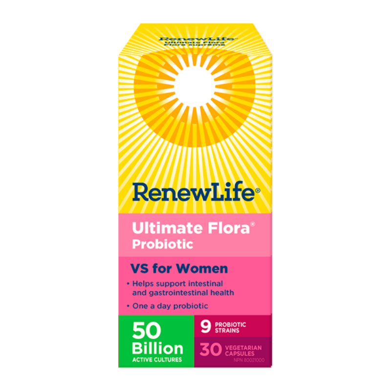 Renew Life Ultimate Flora vs for women 50 Billion - 30 Vcaps