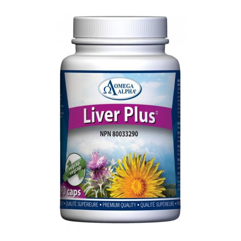 Omega Alpha Liver Plus - 90 Vcaps