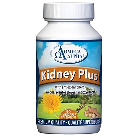 Omega Alpha Kidney Plus - 90Vcaps
