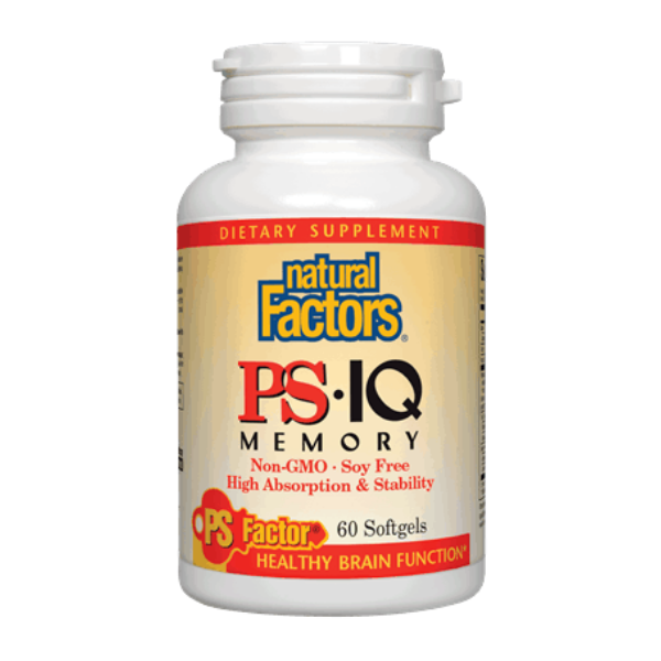 Natural Factors PS-IQ Memory - 60 Softgels