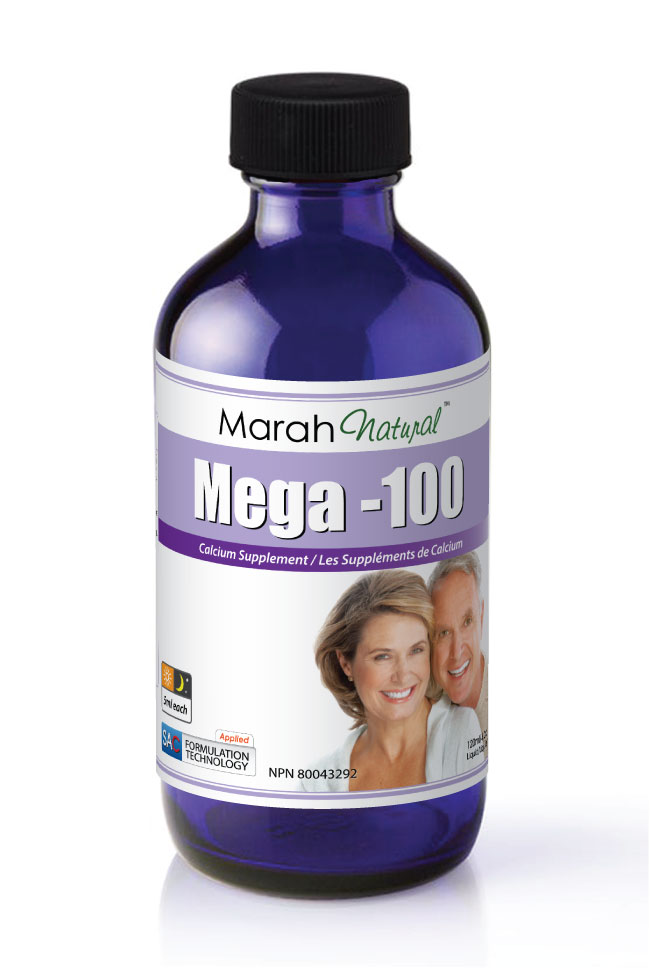 Marah natural Mega-100 250ml - SAC Calcium