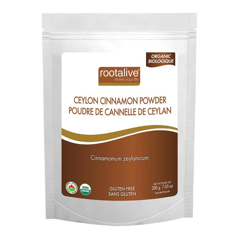 Rootalive Organic Ceylon Cinnamon Powder - 200 g
