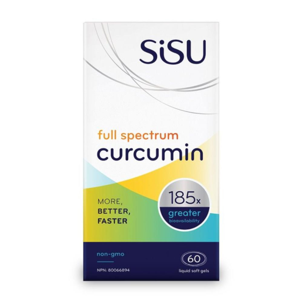 SiSU Full Spectrum Curcumin - 60 Softgels