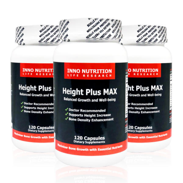 INNO NUTRITION Height Plus Max 120 Caps 3PACK