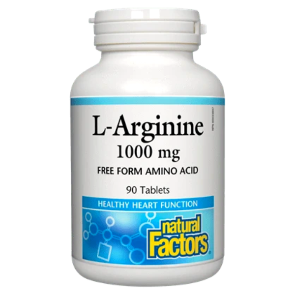 Natural Factors L-Arginine 1000mg 90 Tablets