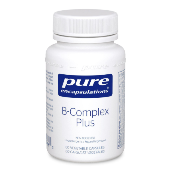 Pure encapsulations B-Complex Plus 60 Vcaps