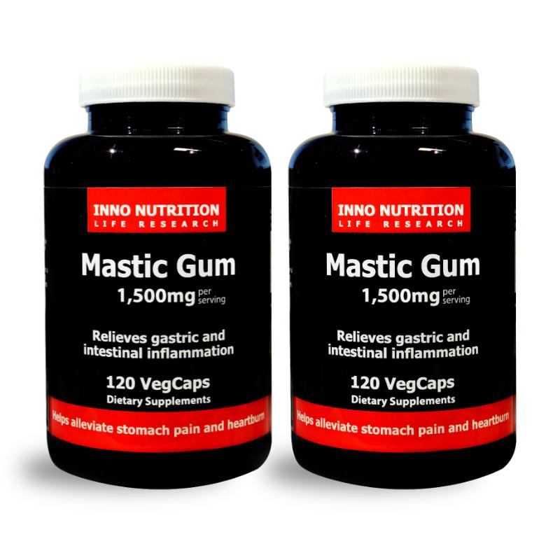 INNO NUTRITION Mastic Gum 1500 mg 120 Vegcaps 2PACK