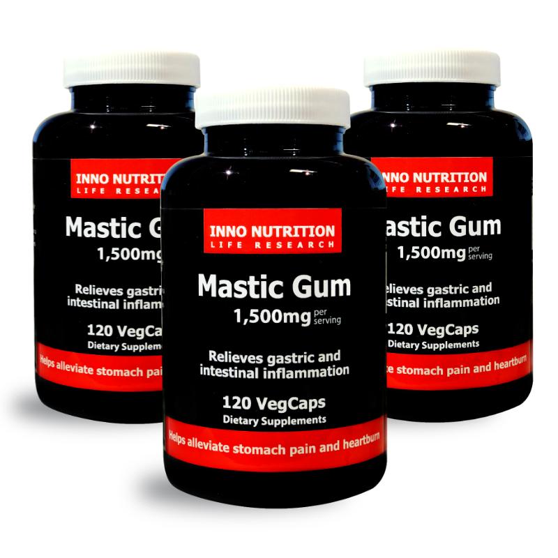 INNO NUTRITION Mastic Gum 1500 mg 120 Vegcaps 3PACK