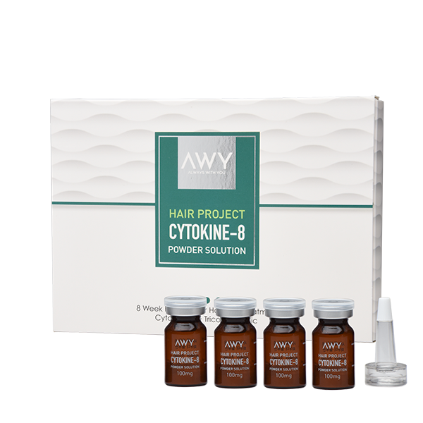AWY Hair Project Cytokine-8 powder solution for hair growth