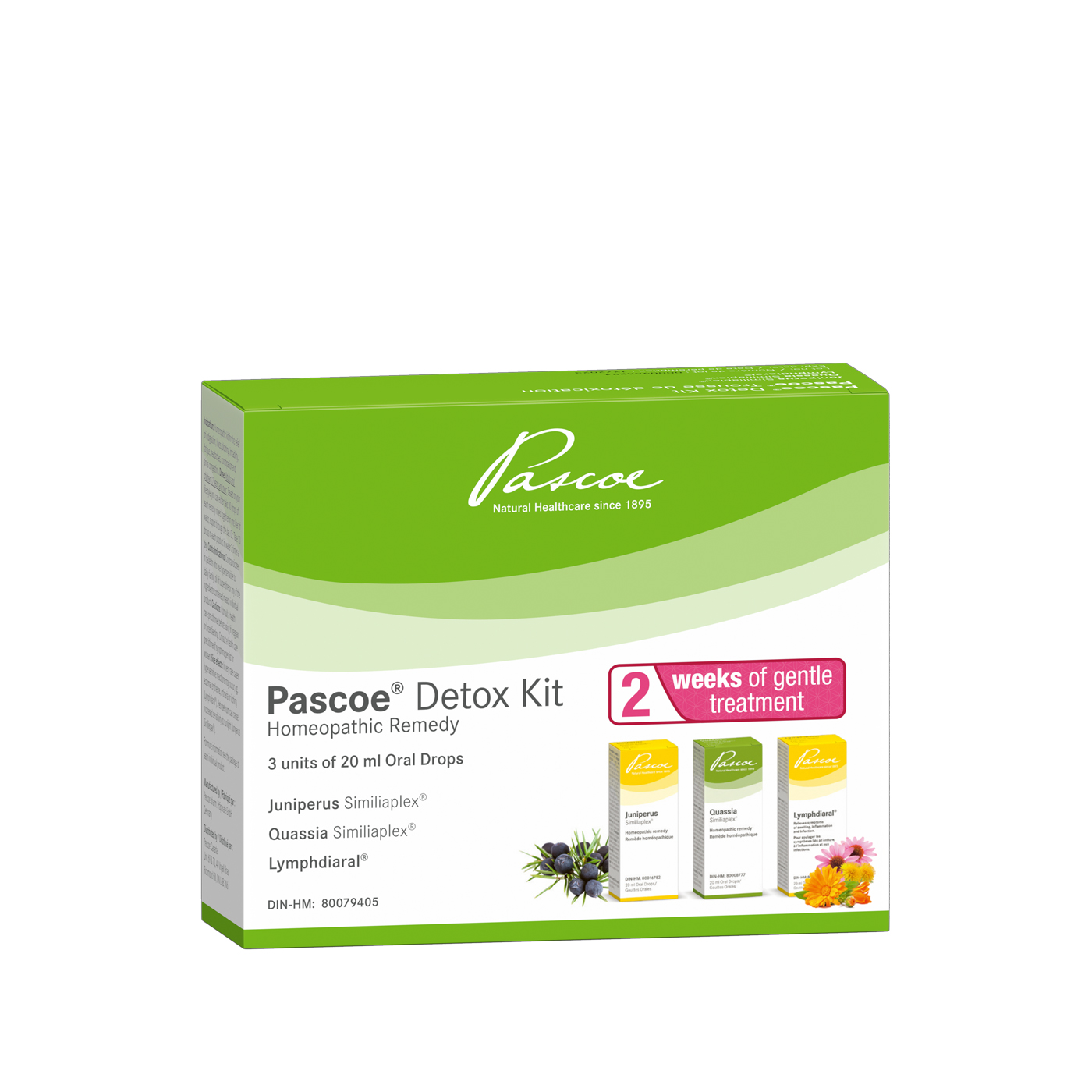 Pascoe Detox Kit - 2 weeks - 3x20ml