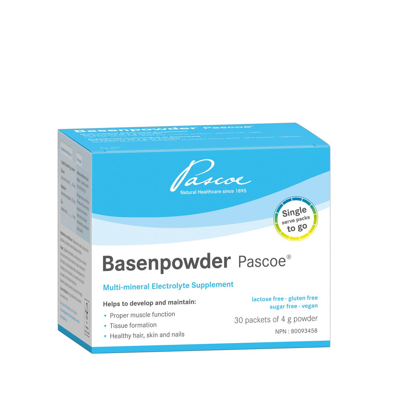 Basenpowder Pascoe 30x 4g Sachets Multimineral powder – Electrolyte