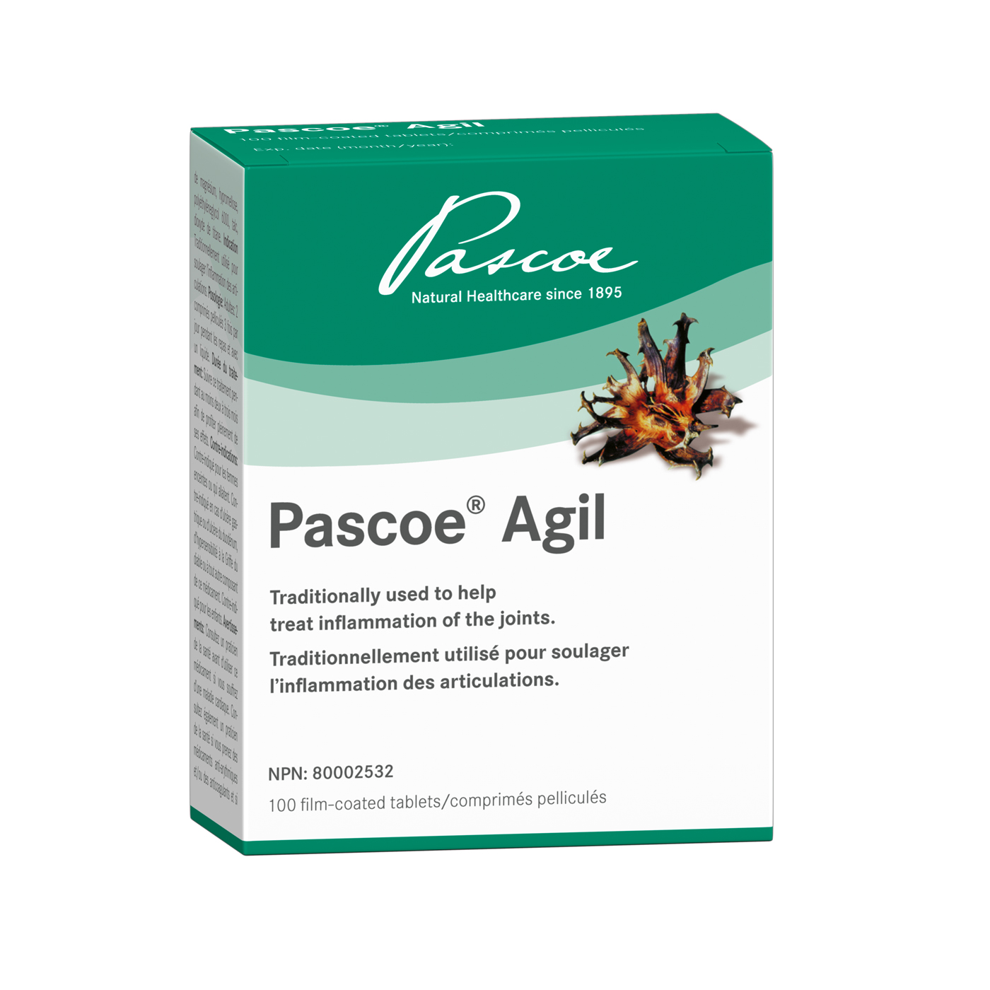 Pascoe - Agil 100 Tablets 240mg Devil's Claw Extract