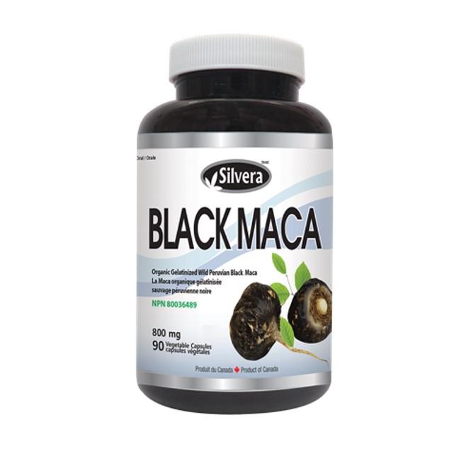Silver21 Black Maca 800 mg 90 Veggie Caps