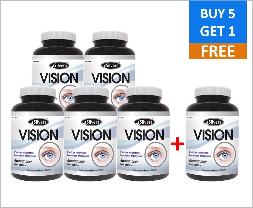 Silver21 Vision 60 Veggie Capsules (6PACK)
