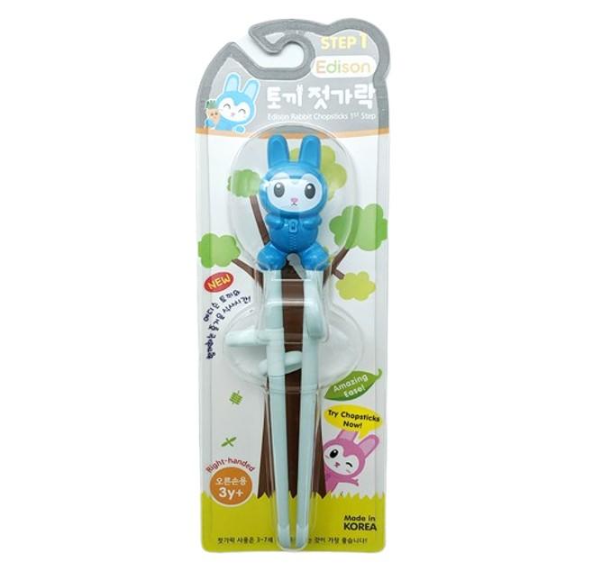 Edison Rabbit Training Chopsticks for Right Handed Step 1 (3yr+)