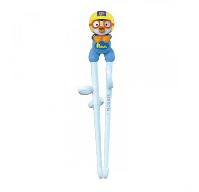 Edison Pororo Training Chopsticks for Right Handed Step 1 (3yr+)