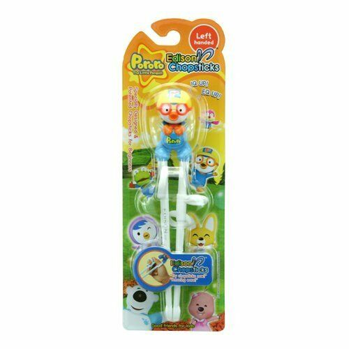 Edison Pororo Training Chopsticks for left Handed Step 1 (3yr+)
