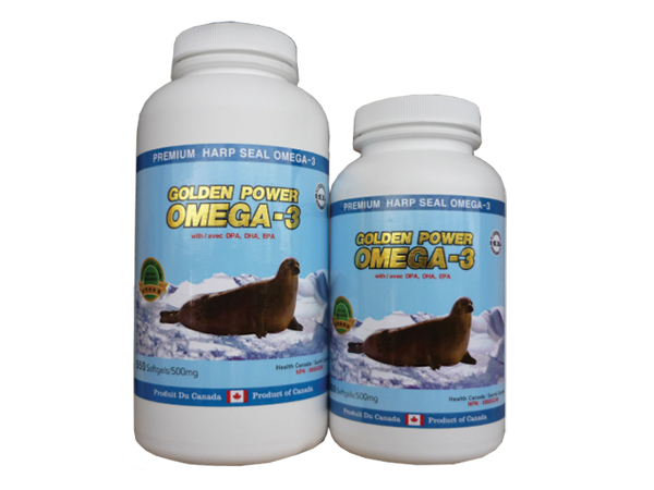 Golden Power Omega-3 500mg 300 Softgels