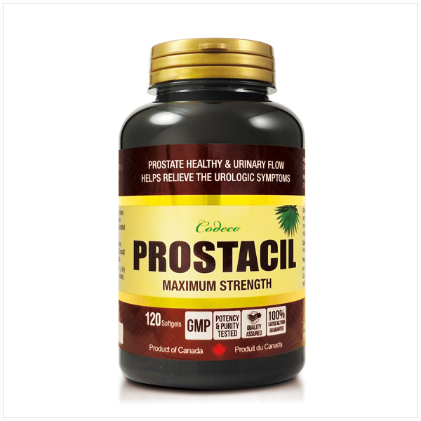 Codeco Prostacil Maximum Strength 120 Softgels