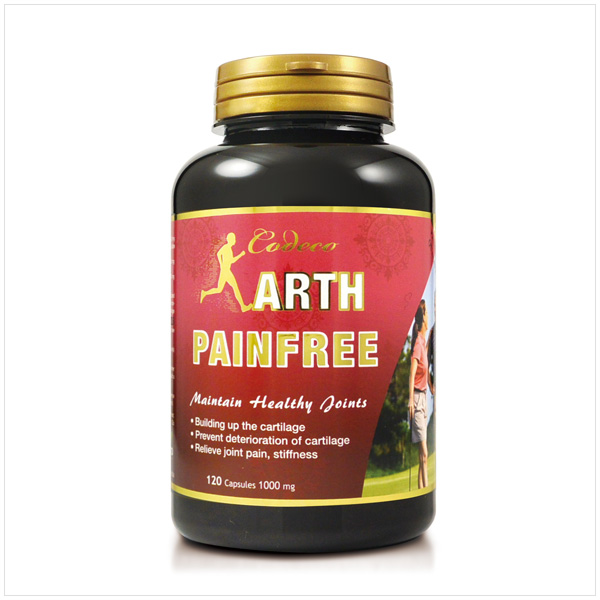 Codeco Arth Pain Free 1000mg 120 Capsules