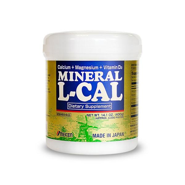 Umeken Mineral L-Calcium 400g - 6 month supply (4,000 balls)
