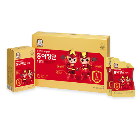KGC Kid Tonic Step 1 - 15ml*30 pouches (Ages 3 ~ 4)