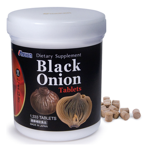 Umeken Black Onion Tablets - 2 month supply (1,333 balls)