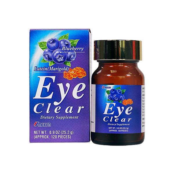Umeken Eye Clear 25.2g - 2 month supply (120 balls)
