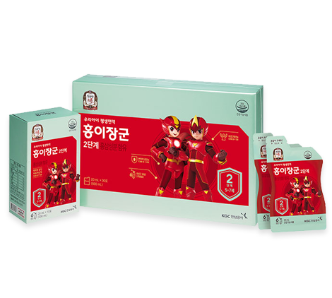 KGC Kid Tonic Step 2 - 10ml*30 pouches (Ages 5 ~ 7)