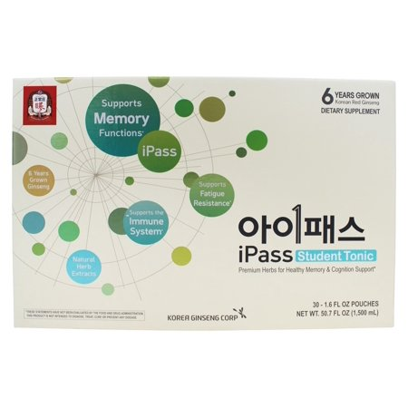 KGC Red Ginseng I-Pass (for students) 50ml * 30pouches