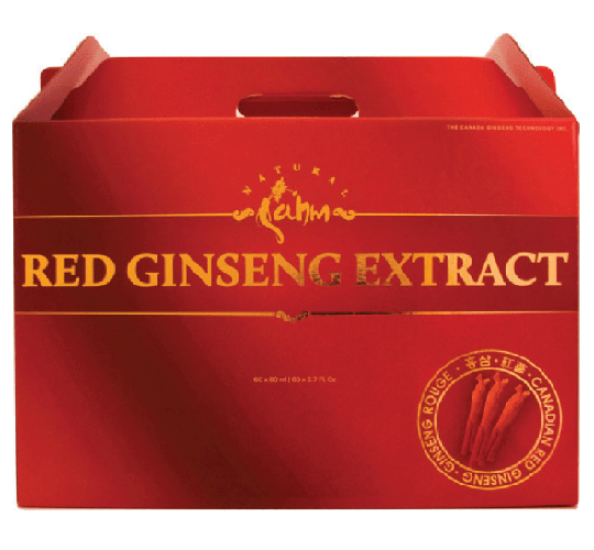 Canadian Red Ginseng Extract 30 x 80ml