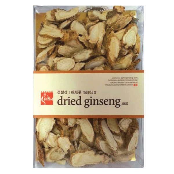 Dried Ginseng Sliced 150g