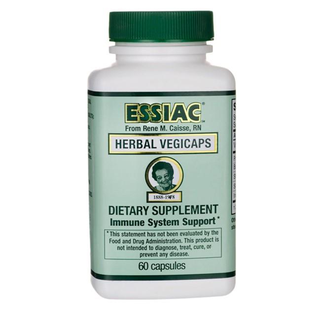 에시악 500 mg 60 식물성 캡슐