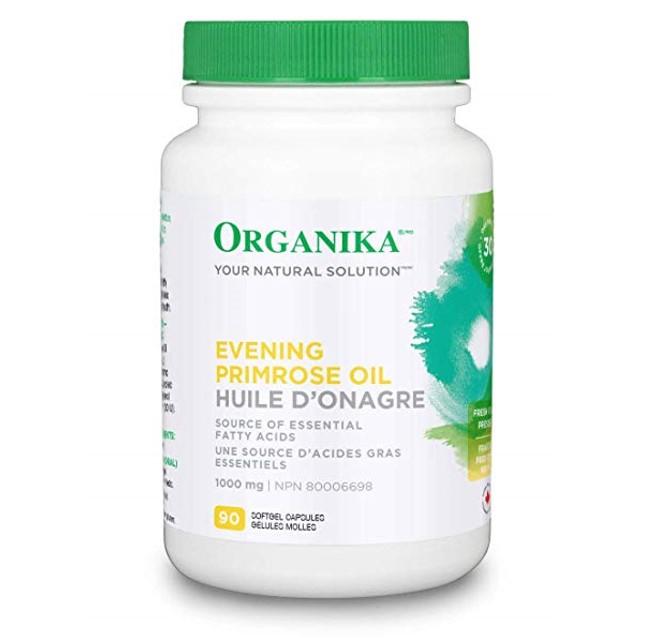 Organika Evening Primrose Oil 1000mg 90 Softgels