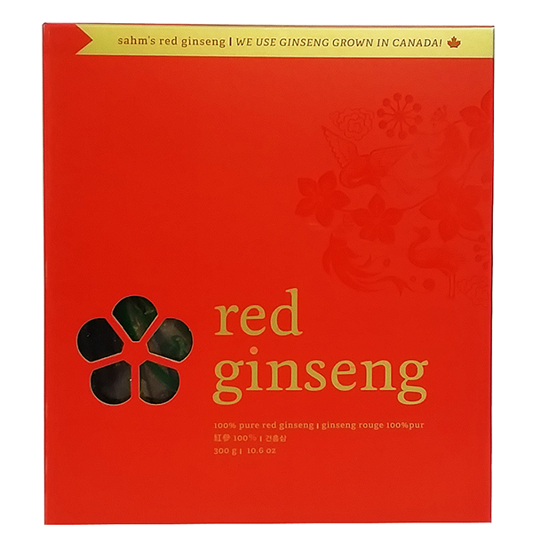 Dried Red Root Ginseng Gift 300g