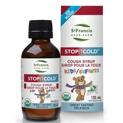 St. Francis Herb Farm Stop It Cold Cough Syrup for Kids 120ml