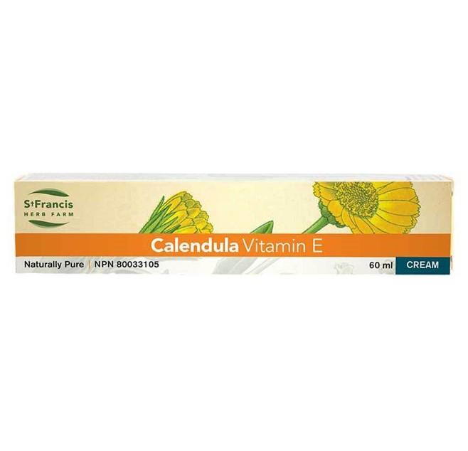 St. Francis Herb Farm Calendula Vitamin E Cream (EXP. May 2021)