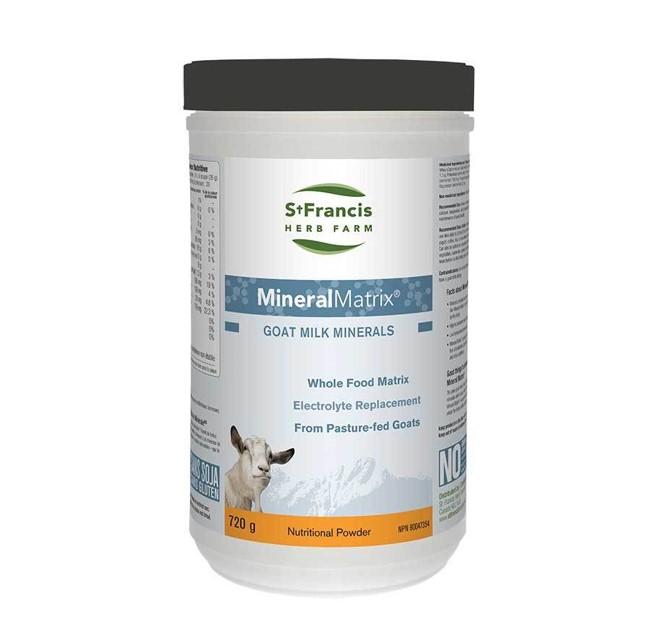 St. Francis Herb Farm Mineral Matrix Goat Milk Minerals 720g