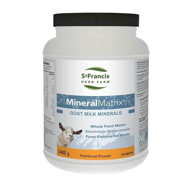 St. Francis Herb Farm Mineral Matrix Goat Milk Minerals 1.44kg