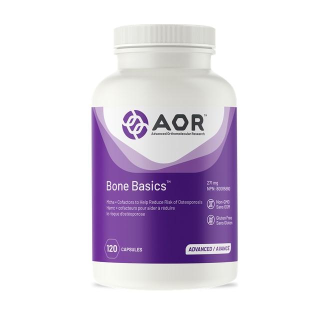 AOR Bone Basics 120 Capsules