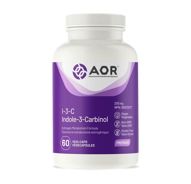 AOR I-3-C (Indole-3-carvinol) 60 Capsules