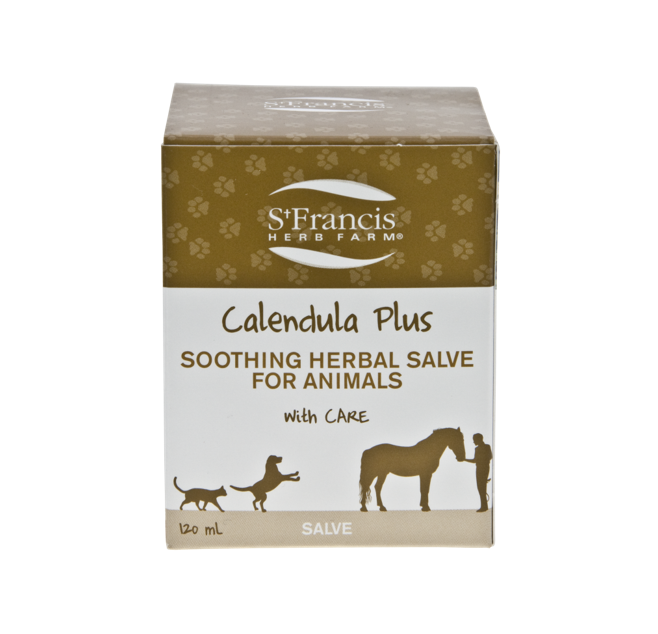 St. Francis Herb Farm Calendula Plus Pet Salve 120ml