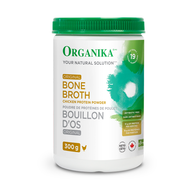 Organika Bone Broth Chicken Original Protein Powder 300g
