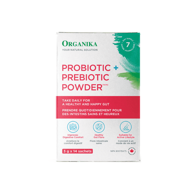 Organika Prebiotic+Probiotic Powder 3g*14 Sachets