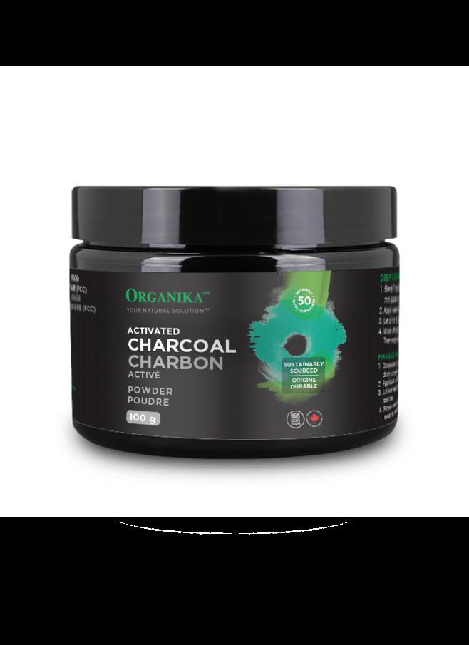 Organika Activated Charcoal Powder+ 100g