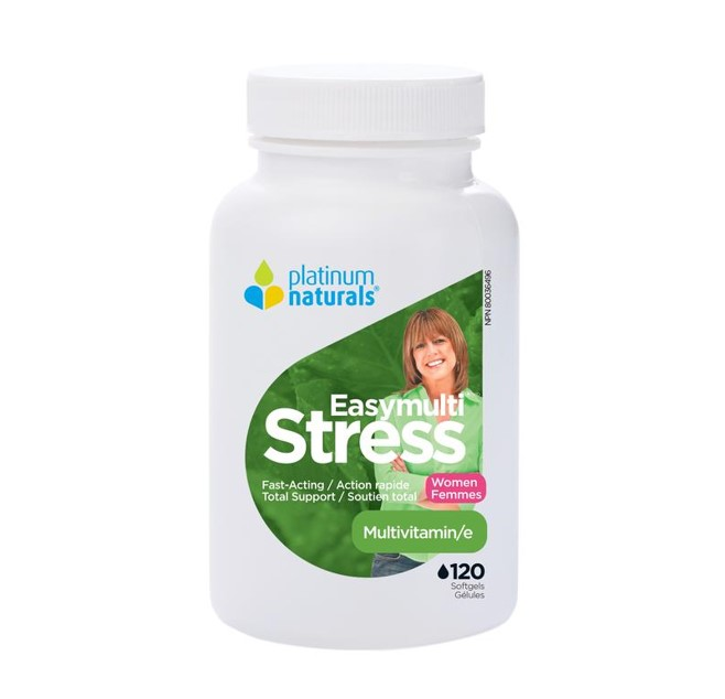 Platinum Naturals Easymulti Stress Women 120 Softgels